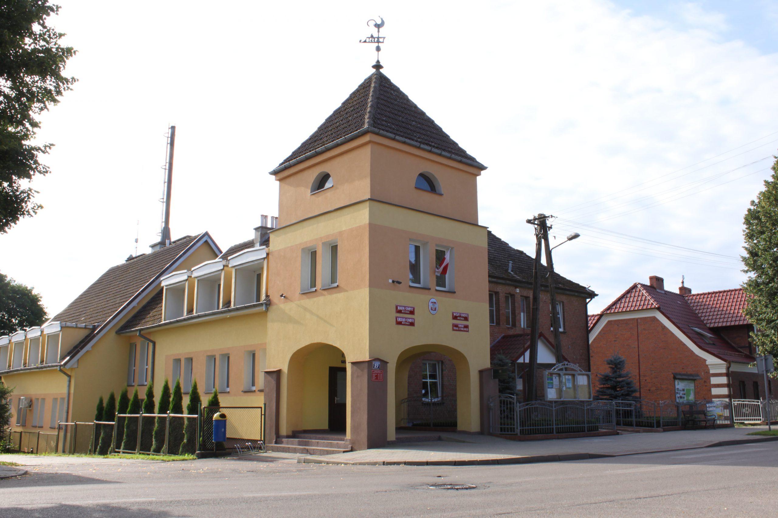 Budynek Urzędu Gminy w Koczale