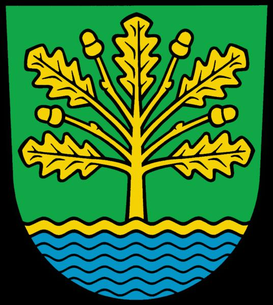 Logotyp parnetskiej gminy Amt-Scharmuetzelsee