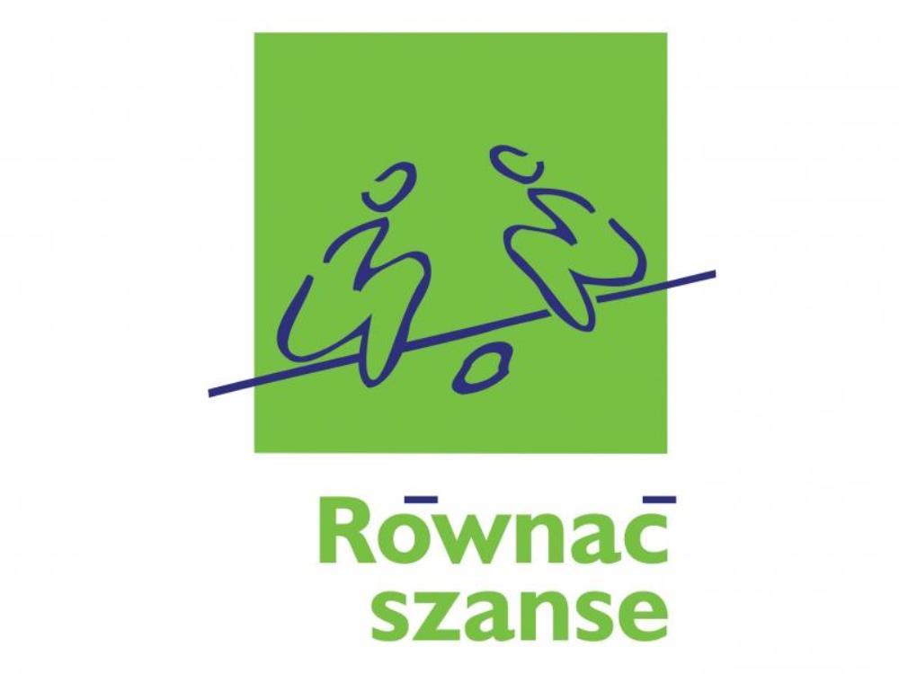 """Logo Programu Polsko-Amerykańskiej Fundacji Wolności """"Równać Szanse 2020""""."""