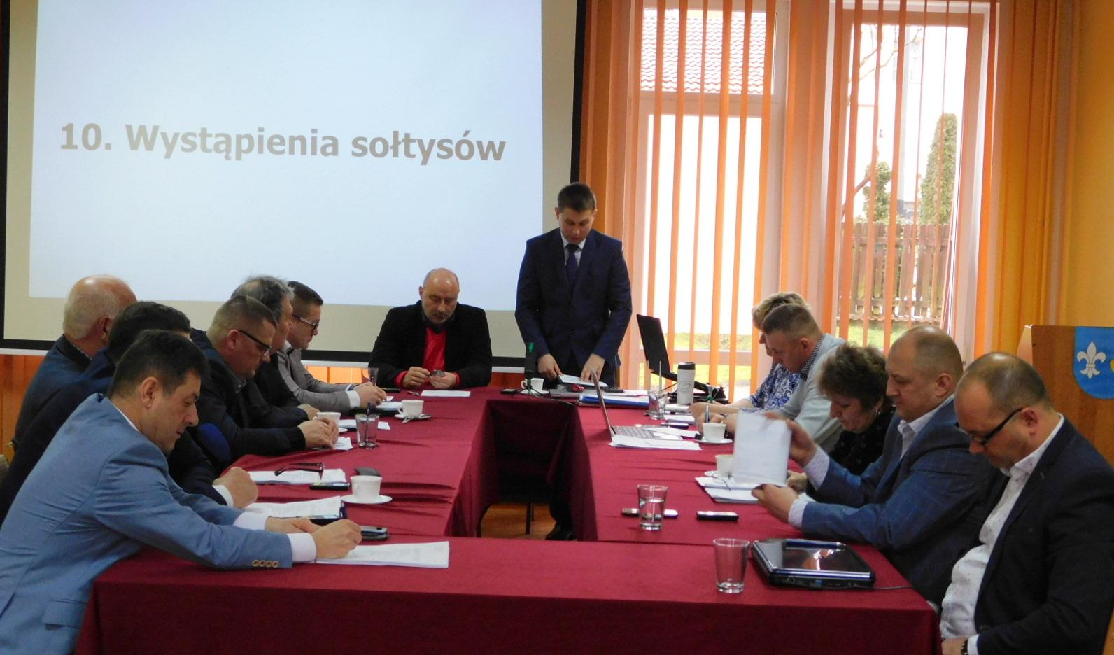 XIV sesja Rady Gminy Koczała