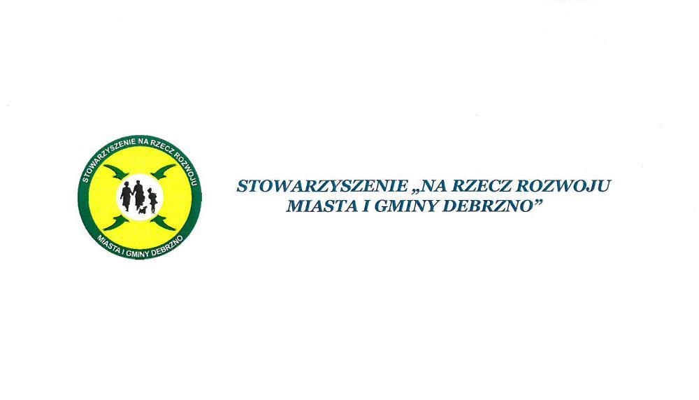 """Logo Stowarzyszenia """"Na Rzecz Rozwoju Miasta i Gminy Debrzno"""""""