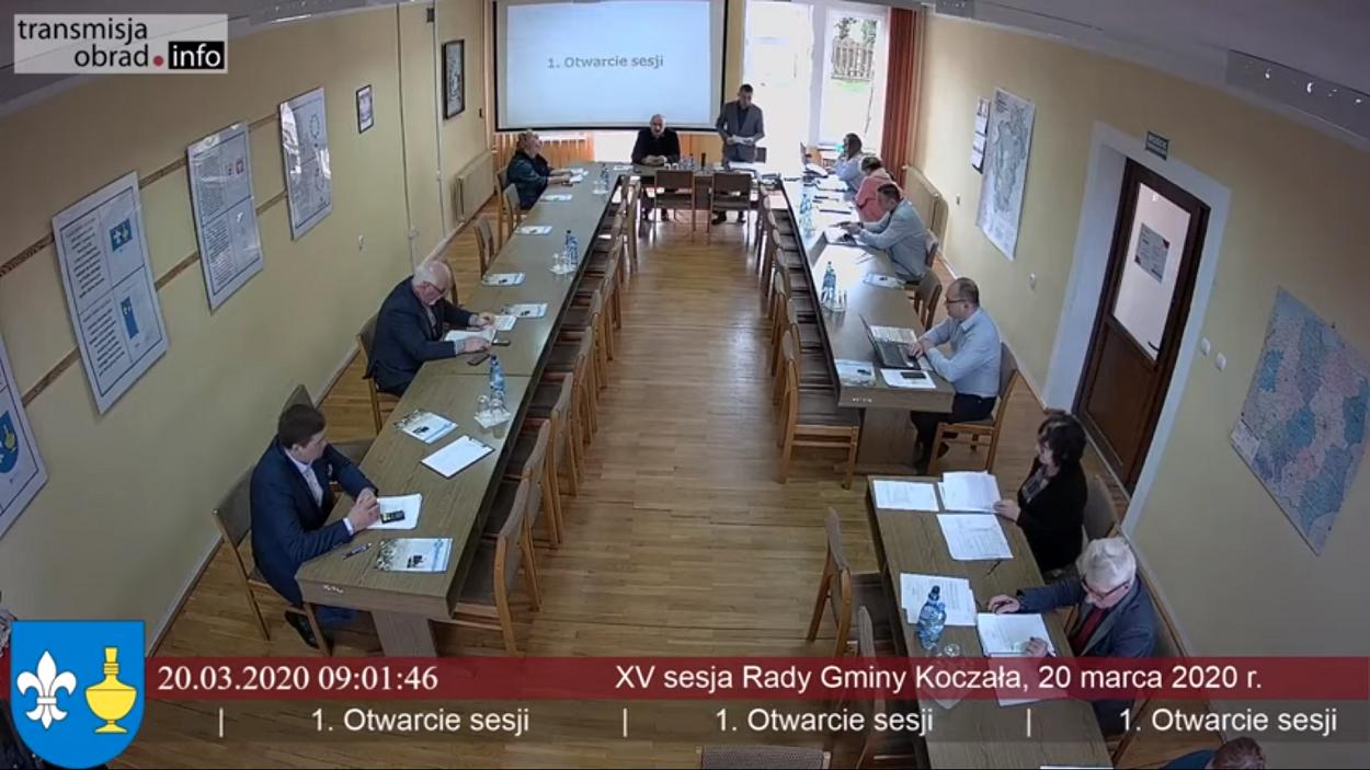 XV sesja Rady Gminy Koczała