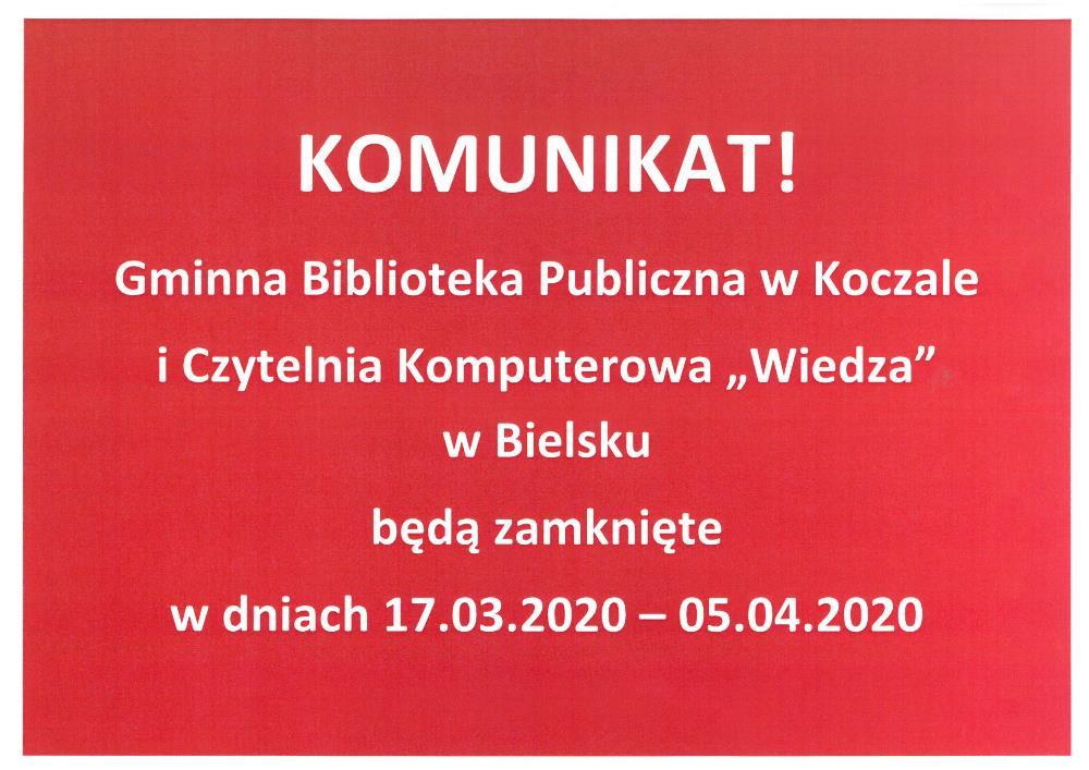 komunikat_biblioteki
