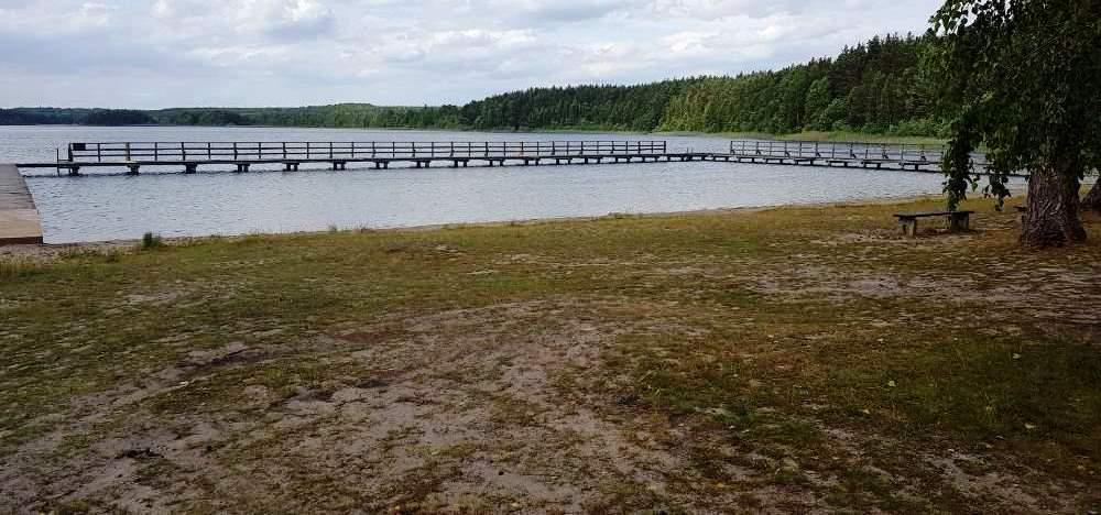 Jezioro Dymno w Koczale