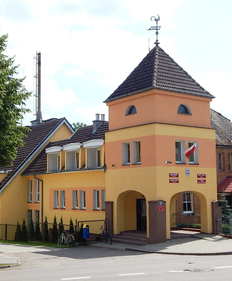 zdjęcie przedstawia budynek Urzędu Gminy Koczała