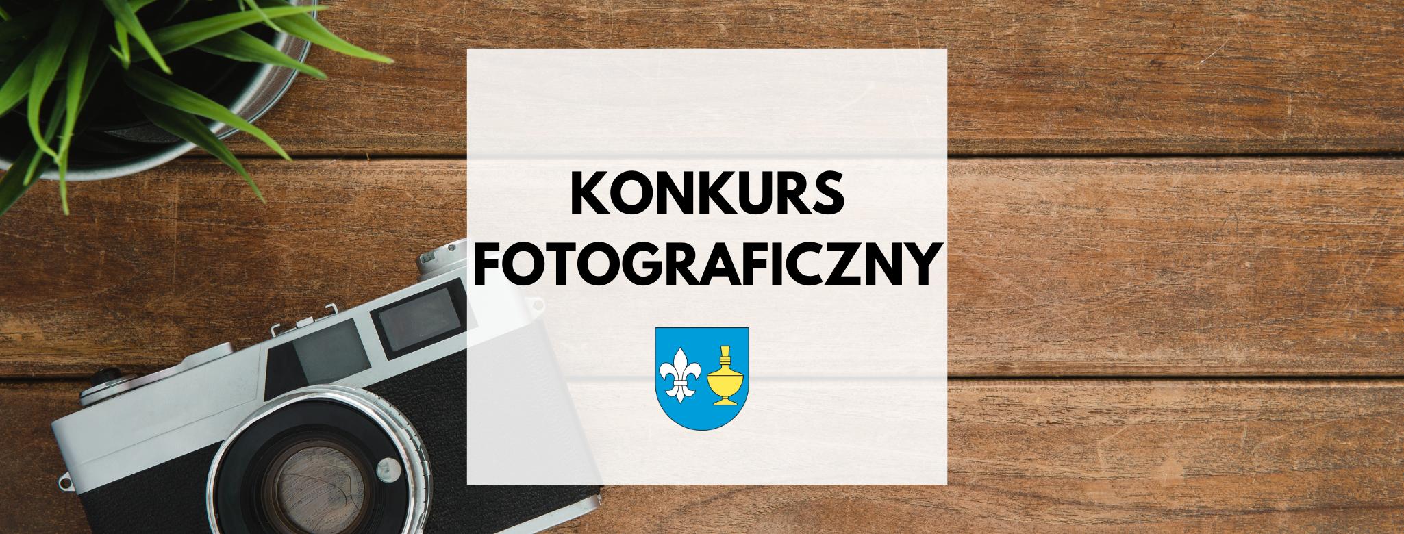 nagłówek graficzny o treści: konkurs fotograficzny