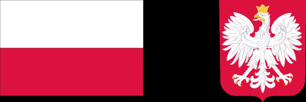 Flaga Polski igodło Polski.